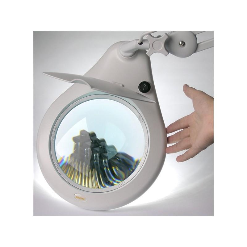 Lampă De Birou Cu Lupă Si Iluminare Led 108buc 5 Dioptrii 178mm